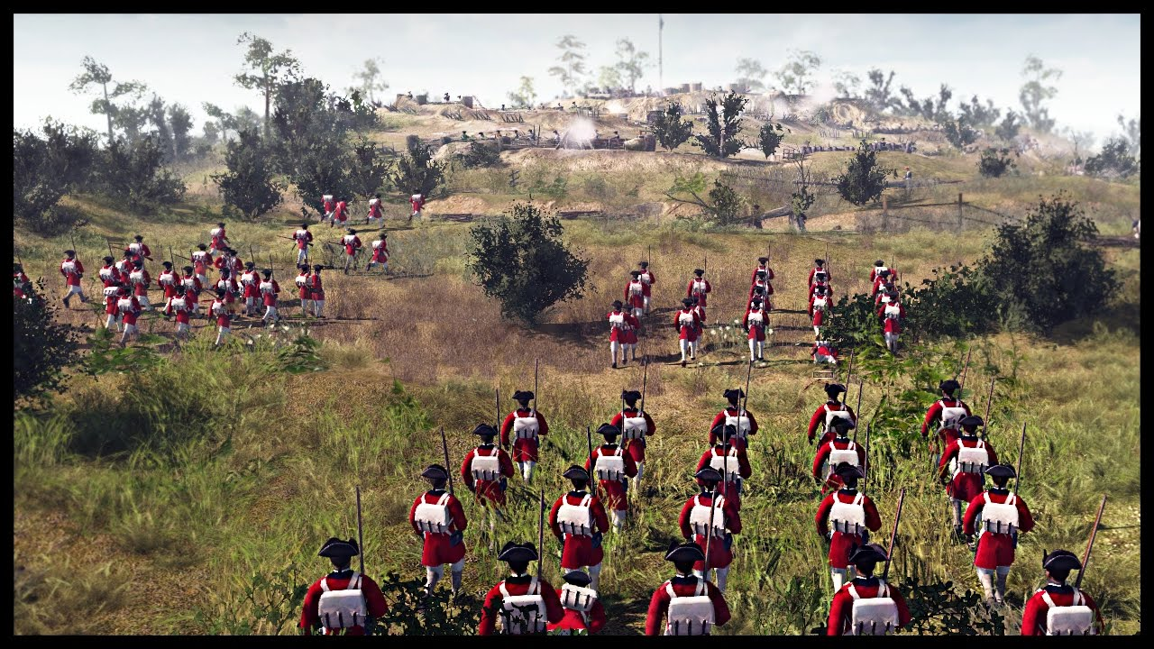 brutal battle of bunker hill american revolutionary war men of  brutal battle of bunker hill american revolutionary war men of war assault squad 2 mod gameplay
