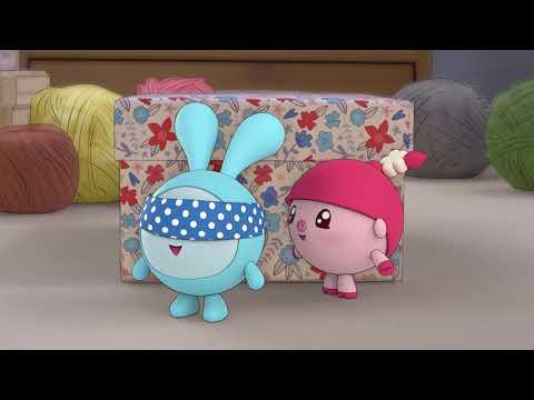 Малышарики - Раскраска для детей - Жмурки