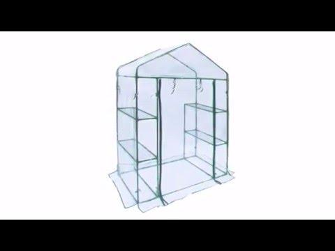 ALEKO® Greenhouse GHTR56X29X77 & GH56X29X77 Series
