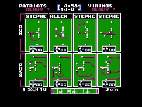 Steve Grogan Passing Challenge Week 8 vs Vikings