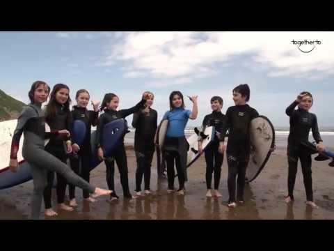 TogetherTo La salbaje surf eskola