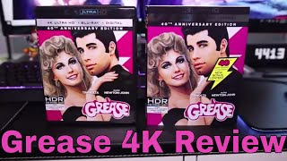 Grease 4K Blu-Ray Review