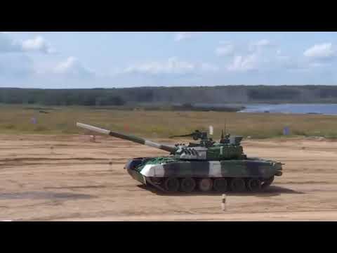 Танковый Биатлон женщины
