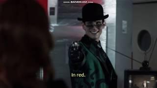 Gotham 5x12 Barbara  tricks the Riddler
