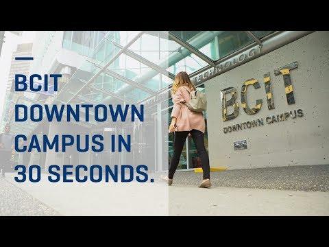 BCIT Downtown Campus tour in 30 seconds