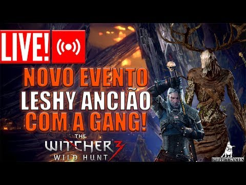 LIVE - Monster Hunter World - NOVO EVENTO LICHE ANCIÃO COM A BULLDOGANG - THE WITCHER 3! thumbnail