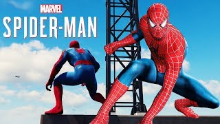 Spider-Man PS4 Raimi Suit In Menu Leaked! & How To Get Into New Top Secret DLC Location (Bar)