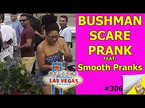 Bushman Scare Prank #310 | SMOOTH PRANKS COLLAB | @SmoothPOV | Ryan Lewis Pranks