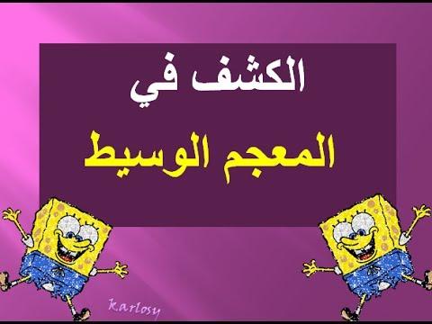 المعجم العربي الأساسي pdf