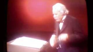 Glenn Gould as Sir Nigel Twitt-Thornwaite