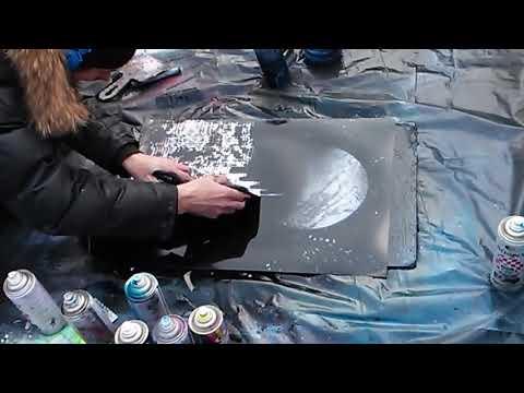 Aerosol paints and spray paints
