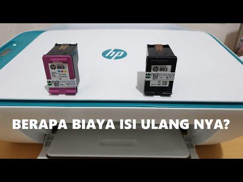Tutorial Cara mengisi ulang tinta untuk printer merk hp deskjet 2623..
