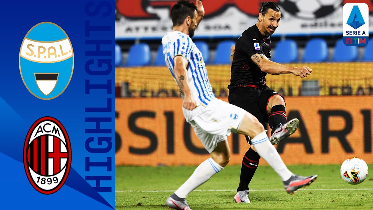 SPAL 2-2 Milan | Two Late Goals See Milan Fight Back to Claim a Point! | Serie A TIM