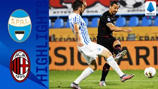 SPAL 2 2 Milan Two Late Goals See Milan Fight Back to Claim a Point Serie A TIM