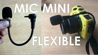 Review Microphone Mini Flexible 3.5mm 16cm - Ini Mic atau Kawat ?