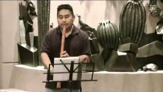 """Zuni Sunrise Song"" on Anasazi flute."