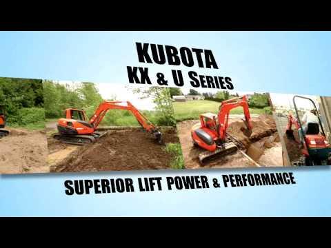 Mini Kubota Excavator In North Carolina - Hines Equipment