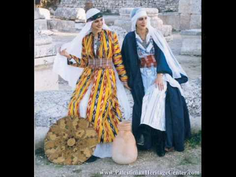Palestinian traditional costumes (Canaanites Heritage)