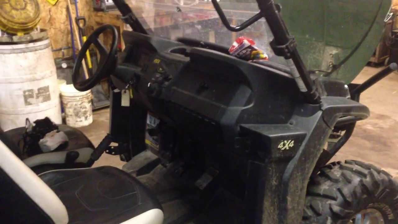 2013 john deere gator RSX850I electrical problems  YouTube