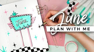 PLAN WITH ME | June 2020 Bullet Journal Setup