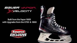 Source Exclusive Bauer Vapor X:Velocity Hockey Skates | Source For Sports
