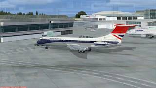 Flying the Just Flight VC10 in FSX Part 4