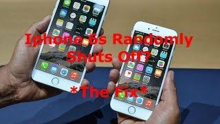 Iphone 6s Randomly Shutdown or turns off - How to Fix - Iphone 6s Shutdown Gate