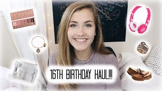 16TH BIRTHDAY HAUL!!!
