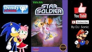 Star Soldier [1986] (Dendy) Full Walkthrough
