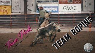 Pink Team Roping
