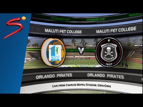 Nedbank Cupset: Maluti FET College 4-1 Orlando Pirates