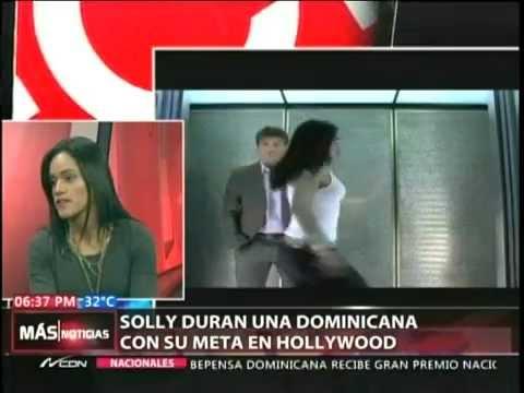 Solly Durán una dominicana con su meta en Hollywood
