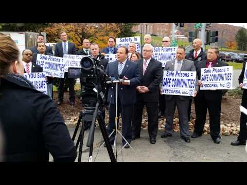 Elmira Press Conference- Increase in Assaults on Staff
