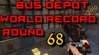 solo Bus depot joint world record round 68 bo2 zombies