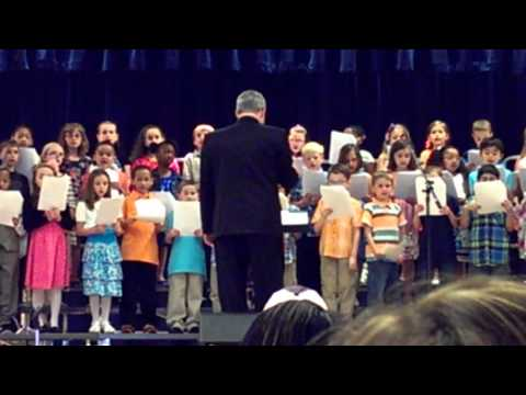 Eastampton, NJ Elementary Spring Concert 2013 2nd graders
