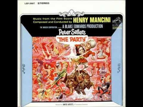 Henry Mancini The Party Instrumental Youtube