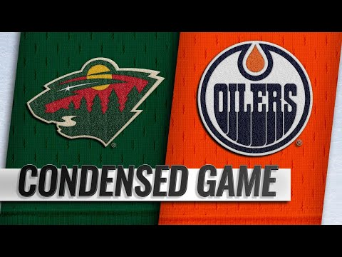 10/30/18 Condensed Game: Wild @ Oilers