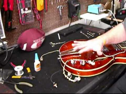 Rewiring a Semi-Hollow Guitar, Part Two