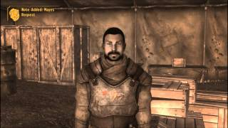 Fallout New Vegas Camp Forlorn Hope part 1 of 5 Camp Personnel and Letters