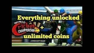 How to hack WCC2 (Mega hack)+coins unlimited super hack.100% working by nb all rounder