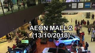 Hang Out At the Aeon Mall 2 Accompanied By My Son - October 13, 2018, Phnom Penh