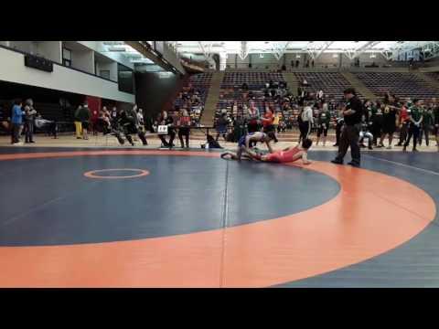 2016 Dino Invitational: 57 kg Roland Yong vs. Eric Robertson