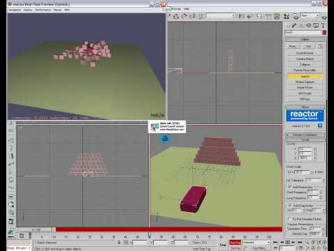 Reactor beginner tutorial 3ds max youtube for 3ds max step by step tutorials for beginners