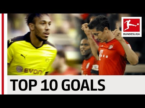 Aubameyang and Lewandowski's Top 10 - Two strikers going for number 1