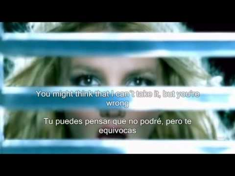 Britney Spears Stronger subtitulos español ingles