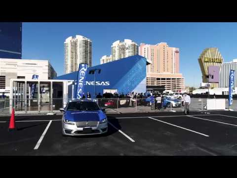 Renesas 2018 Lincoln Autonomous Driving Demonstration