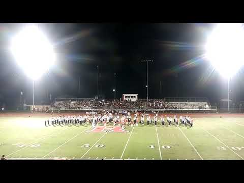 Rusk High School Band 9/7/2018