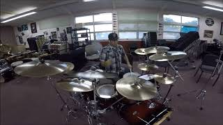 LINKIN PARK - 1STP KLOSER drum cover
