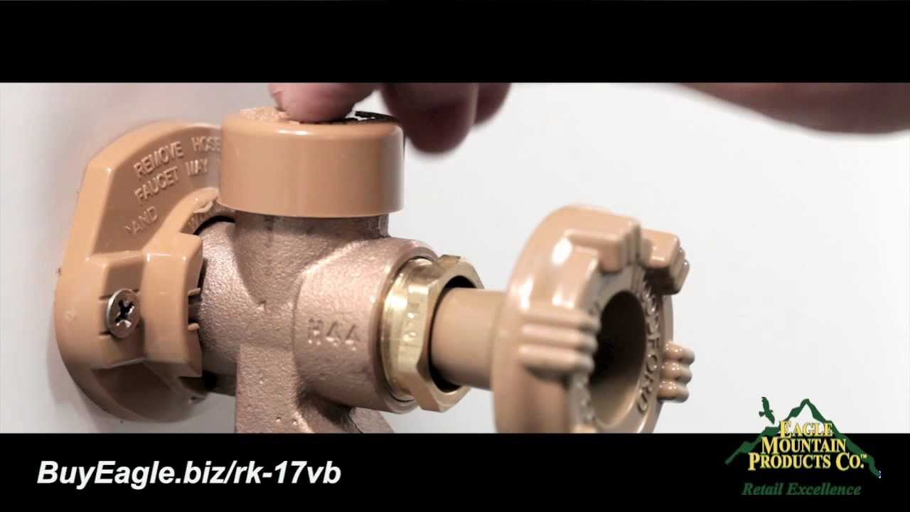 Amazing Woodford Outdoor Faucet Vacuum Breaker Repair Or Replacement Installation    YouTube