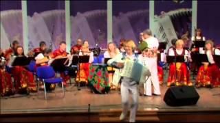 Гармонист Павел Уханов - выступление в Ростове-на-Дону